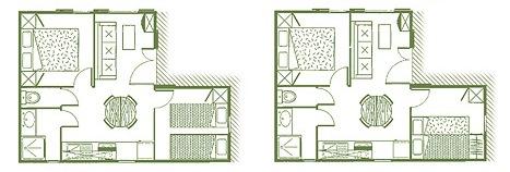plan cottage hameaux du perrier