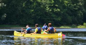 Aviron Kayak à Brive proche hameaux de Perrier