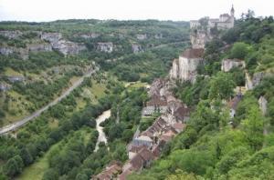 La vallées de l'Ouysse et de l'Alzou